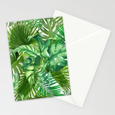 green tropic  Stationery Cards