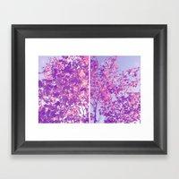 Autumnal Things Framed Art Print