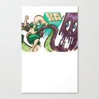 ATOMICA Canvas Print