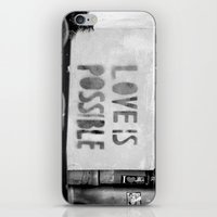 Love Is Possible - Berli… iPhone & iPod Skin