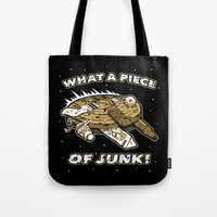 What a Piece of Junk! Tote Bag