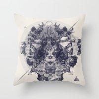 Neptunite Throw Pillow