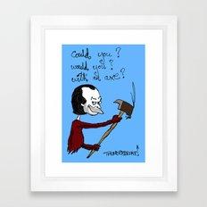 Dr Seuss' The Shining Framed Art Print