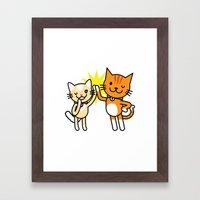 Ginger & Lemon Framed Art Print