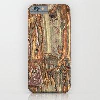 Worm Eaten Wood iPhone 6 Slim Case