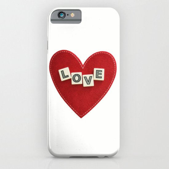 heart love iPhone & iPod Case