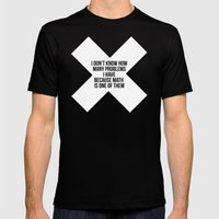 math Mens Fitted Tee Black SMALL
