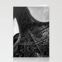 eiffel Stationery Cards featuring Eiffel by Tom Radenz