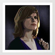 Breaking Bad Illustrated - Marie Schrader Art Print