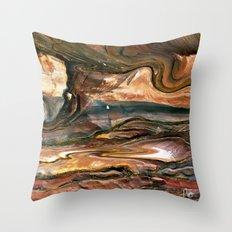 Petra's Paint Throw Pillow