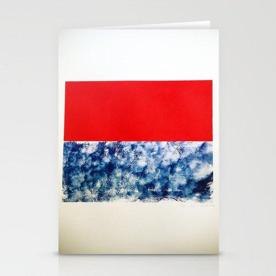 SKY/ORG Stationery Card
