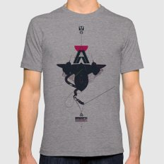 STEALTH:SR-71 Blackbird Mens Fitted Tee Athletic Grey SMALL