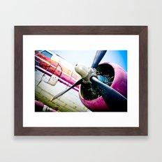 C160 Military Transport Airplane Framed Art Print