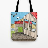 Skewed By Debbie Porter … Tote Bag