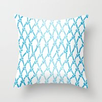 Net Water Throw Pillow
