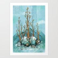 Nature Wins.01 Art Print