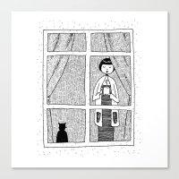 cozy Canvas Print