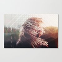 Fractions 21 Canvas Print