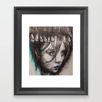 Eyes On You    BY.Davy W… Framed Art Print