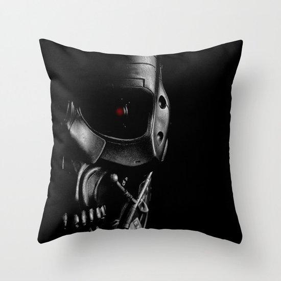 Endoskeleton Throw Pillow