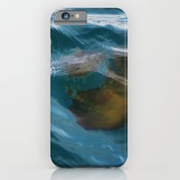 iPhone & iPod Case featuring under sea jelly by Katie Pelon
