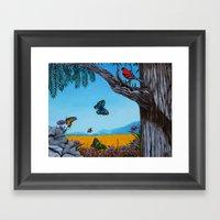 California Redwoods Framed Art Print