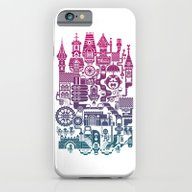 iPhone & iPod Case featuring Castle Mama by C86 | Matt Lyon