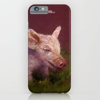 iPhone & iPod Case featuring { Pig } by Olives Lo