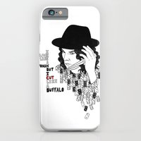 iPhone & iPod Case featuring Jack White Cuts Like a Buffalo by Kiki Stardust (OLD)