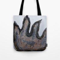 Devil In Glass Tote Bag