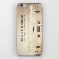 Far Better Things Ahead - Inspirational Print iPhone & iPod Skin
