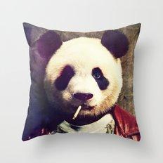 Panda Durden Throw Pillow