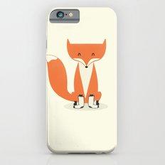 A Fox With Socks iPhone 6 Slim Case