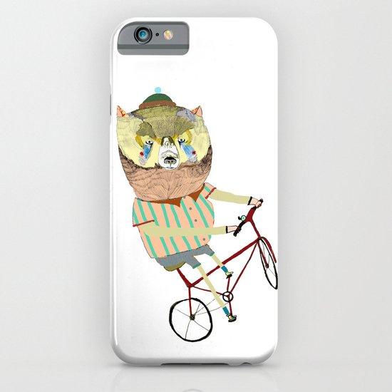 Biking Bear iPhone & iPod Case