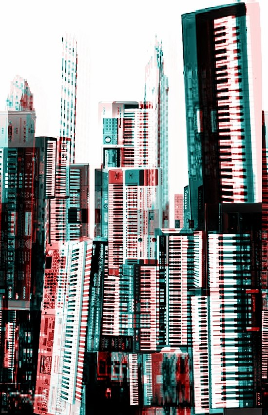Keyboard Dreams Art Print