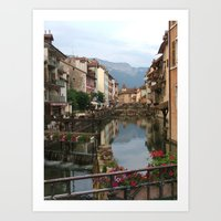 The Venice of France Art Print