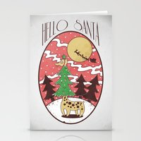 Hello Santa Stationery Cards