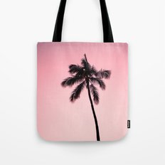 palm tree ver.pink Tote Bag