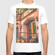 New York City Autumn Pum… Mens Fitted Tee White SMALL