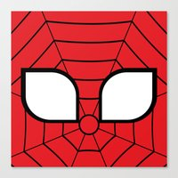Adorable Spider Canvas Print