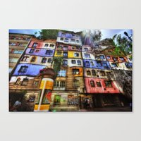 The Color Field Canvas Print