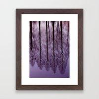Water Trees - JUSTART © Framed Art Print