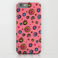 iPhone & iPod Case featuring DOTTIE PINK by Kim Moulder