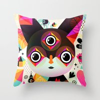 Melek Throw Pillow