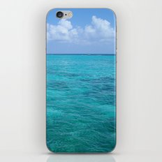 Caribbean Blues iPhone & iPod Skin