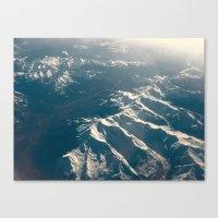 Topographics Canvas Print