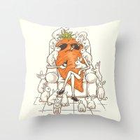 PlayBoss Throw Pillow