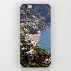 Positano Italy Harbor - Mediterranean Sea iPhone & iPod Skin