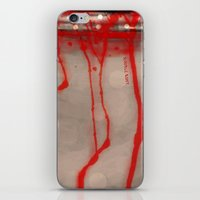 Cup of Blood (detail) iPhone & iPod Skin