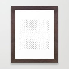 Gramophone - Graviola Filmes - White Framed Art Print